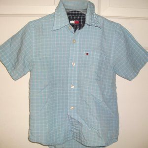 Tommy Hilfiger Checked Shirt Boy 5T